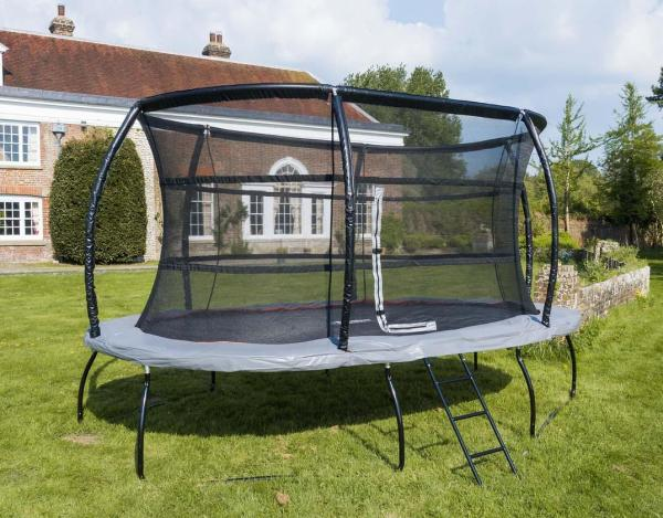 Telstar Jump Capsule Deluxe MK 3 7ft x 10ft Oval Trampoline and Enclosure Package -13949