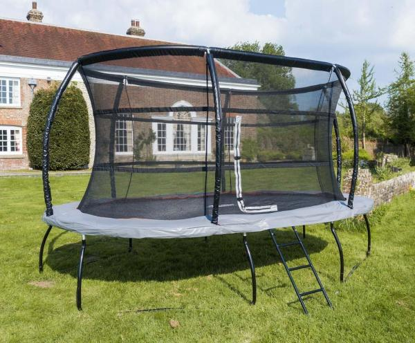 Telstar Jump Capsule Deluxe MK 3 - 9ft x 13ft Oval Trampoline and Enclosure Package -13975