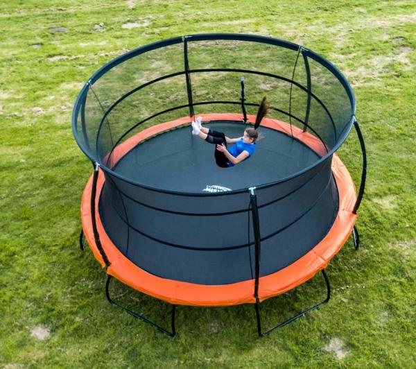 Telstar Jump Capsule Deluxe MK 3 15ft Round Trampoline and Enclosure -0