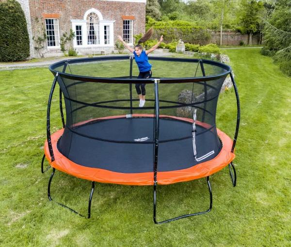 Telstar Jump Capsule Deluxe MK 3 14ft Round Trampoline and Enclosure Package -14040