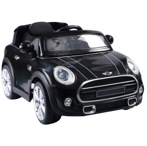 Licensed Mini Cooper S 12v Child's Electric / Battery Ride On Car - Black-0