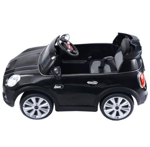 Licensed Mini Cooper S 12v Child's Electric / Battery Ride On Car - Black-14224