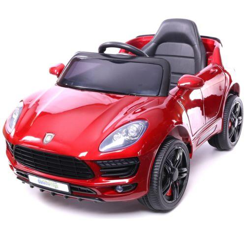 Porsche Macan Style Jeep 12v Electric / Battery Ride on Car - Red-0