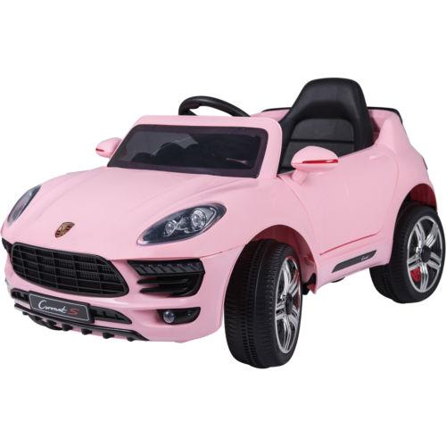 Porsche Macan Style Jeep 12v Electric / Battery Ride on Car - Pink-0