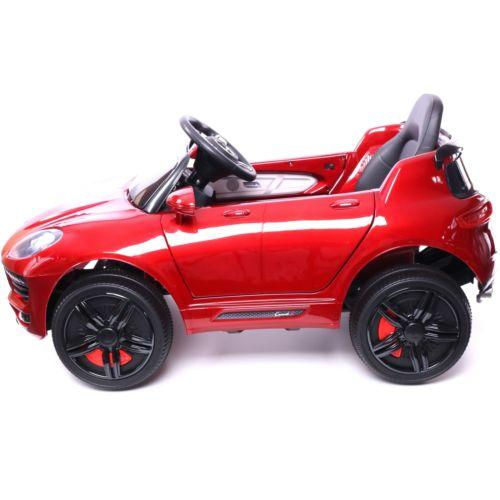 Porsche Macan Style Jeep 12v Electric / Battery Ride on Car - Red-14249