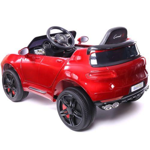 Porsche Macan Style Jeep 12v Electric / Battery Ride on Car - Red-14252