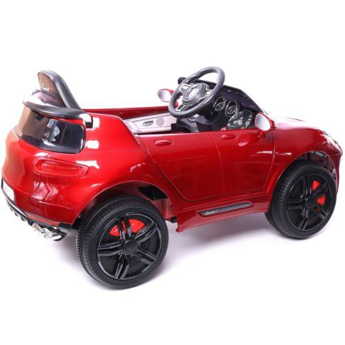 Porsche Macan Style Jeep 12v Electric / Battery Ride on Car - Red-14251