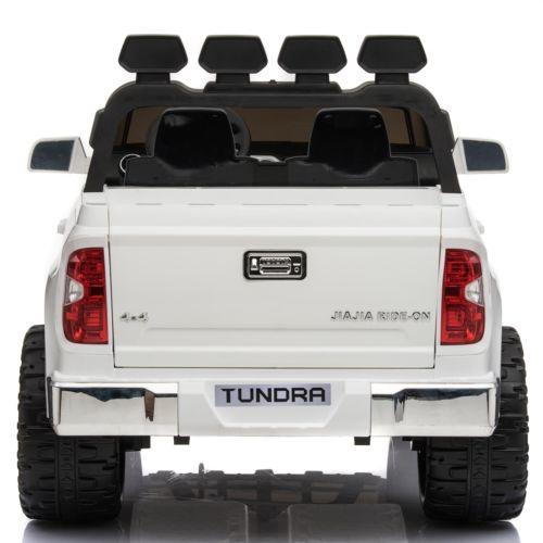 Licensed Toyota Hilux 24v Ride On Children's Electric / Battery Jeep Pickup - White-14317