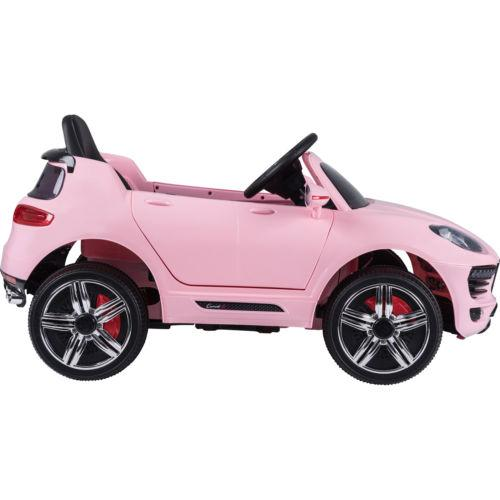 Porsche Macan Style Jeep 12v Electric / Battery Ride on Car - Pink-14273