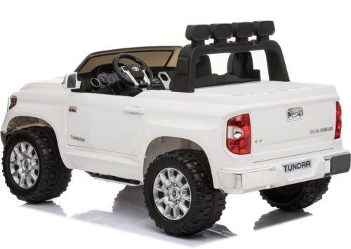 Licensed Toyota Hilux 24v Ride On Children's Electric / Battery Jeep Pickup - White-14324