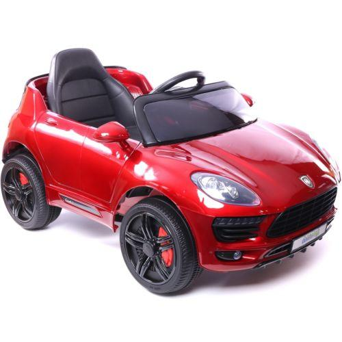 Porsche Macan Style Jeep 12v Electric / Battery Ride on Car - Red-14260