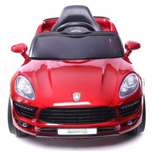 Porsche Macan Style Jeep 12v Electric / Battery Ride on Car - Red-14256