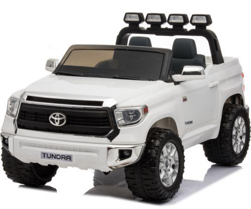 Licensed Toyota Hilux 24v Ride On Children's Electric / Battery Jeep Pickup - White-0