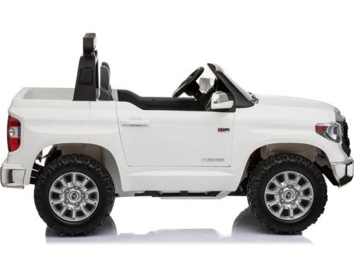 Licensed Toyota Hilux 24v Ride On Children's Electric / Battery Jeep Pickup - White-14314