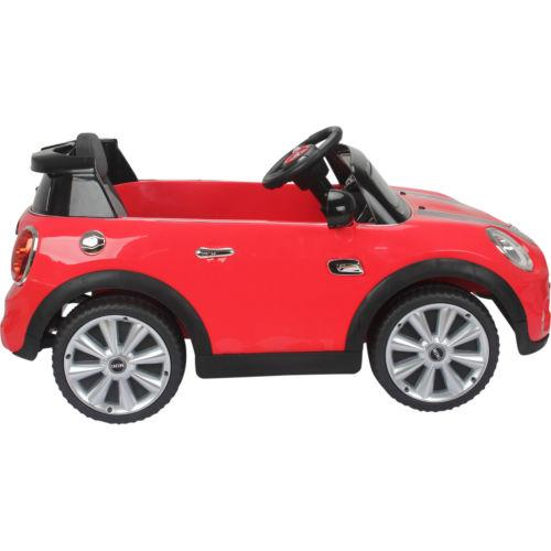 Licensed Mini Cooper S 12v Child's Electric / Battery Ride On Car - Red-14205