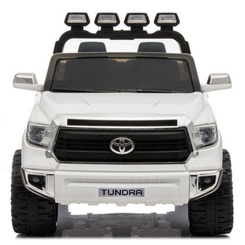 Licensed Toyota Hilux 24v Ride On Children's Electric / Battery Jeep Pickup - White-14322
