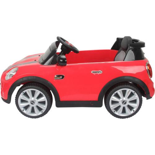 Licensed Mini Cooper S 12v Child's Electric / Battery Ride On Car - Red-14206
