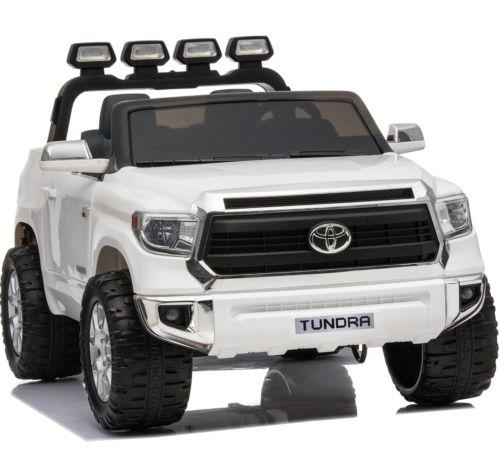 Licensed Toyota Hilux 24v Ride On Children's Electric / Battery Jeep Pickup - White-14315