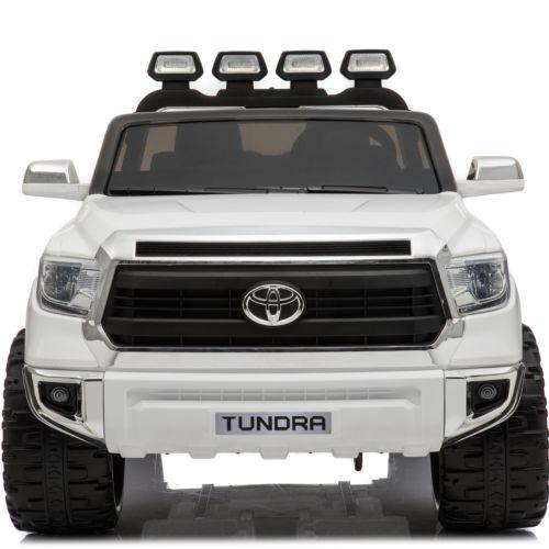 Licensed Toyota Hilux 24v Ride On Children's Electric / Battery Jeep Pickup - White-14321