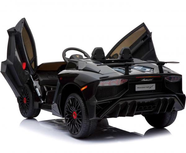 Kids Licensed Lamborghini Aventador LP750-4 SV 12v Ride on Car - Black -14582