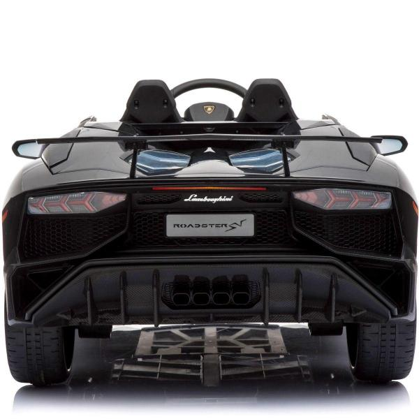 Kids Licensed Lamborghini Aventador LP750-4 SV 12v Ride on Car - Black -14583