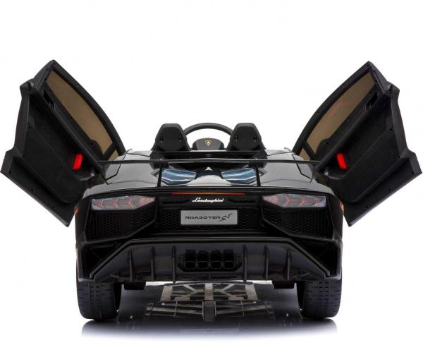 Kids Licensed Lamborghini Aventador LP750-4 SV 12v Ride on Car - Black -14585