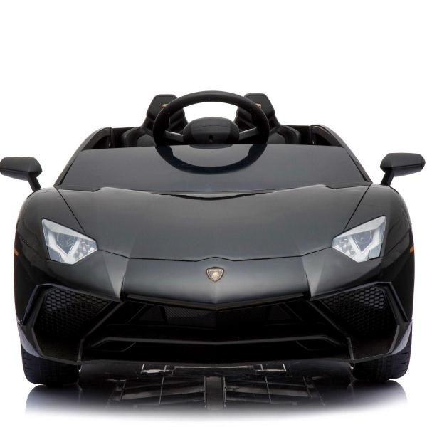 Kids Licensed Lamborghini Aventador LP750-4 SV 12v Ride on Car - Black -14587