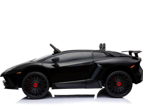 Kids Licensed Lamborghini Aventador LP750-4 SV 12v Ride on Car - Black -14586