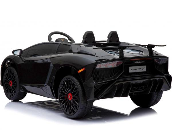 Kids Licensed Lamborghini Aventador LP750-4 SV 12v Ride on Car - Black -14588