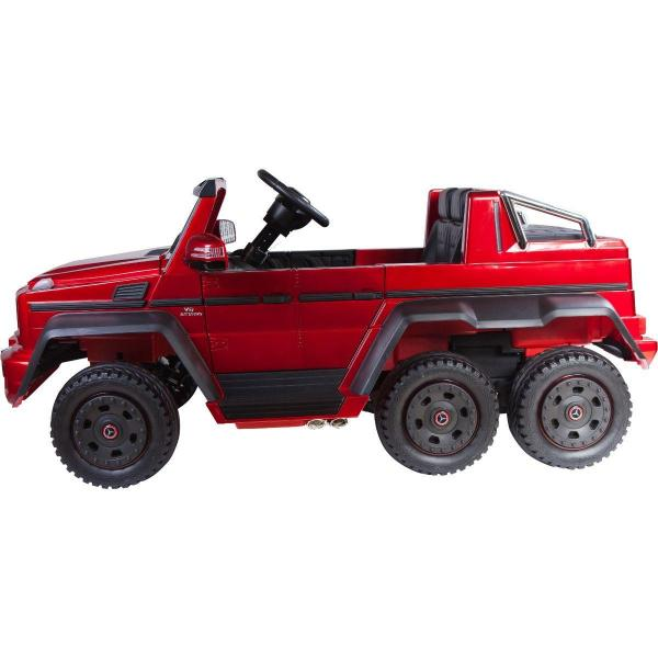 Licensed Mercedes G63 AMG G Wagon 6 x 6 SUV - 12v Electric / Battery Ride on Car Jeep Red-14675