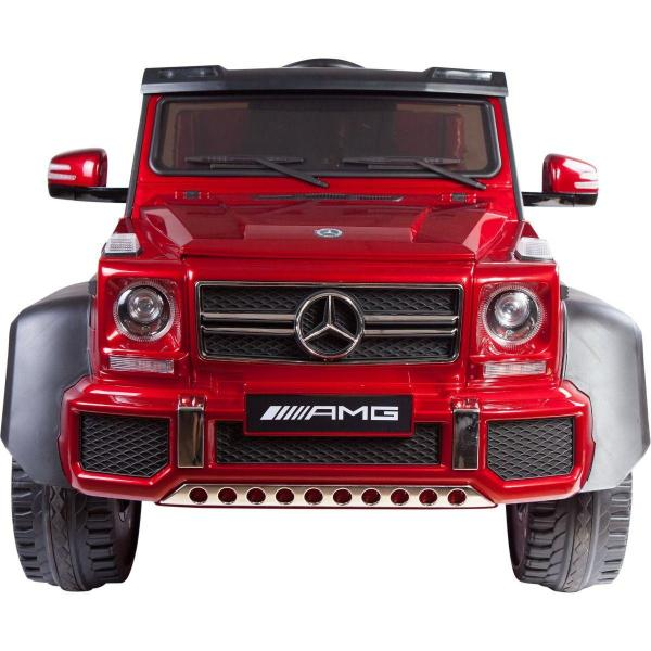 Licensed Mercedes G63 AMG G Wagon 6 x 6 SUV - 12v Electric / Battery Ride on Car Jeep Red-14676