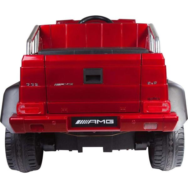 Licensed Mercedes G63 AMG G Wagon 6 x 6 SUV - 12v Electric / Battery Ride on Car Jeep Red-14674