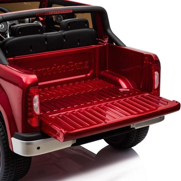Kids Mercedes X Class Licensed Pickup Jeep - 24v 4WD Battery Ride on Car - Red-14723