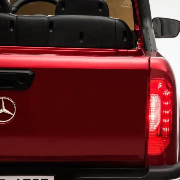 Kids Mercedes X Class Licensed Pickup Jeep - 24v 4WD Battery Ride on Car - Red-14727