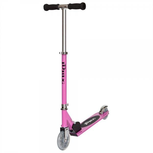 JD Bug Junior Street Scooter - Pastel Pink-14780