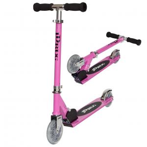 JD Bug Junior Original Folding Street Scooter - Pastel PinkJD Bug Junior Street Scooter - Pastel Pink-0