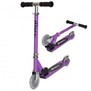 JD Bug Junior Original Folding Street Scooter - Matt PurpleJD Bug Junior Street Scooter - Matt Purple-0