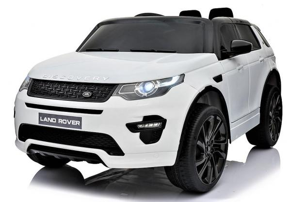 Licensed Kids Land Rover Range Rover Discovery HSE Sport 12v Electric Ride on Car - White-14985