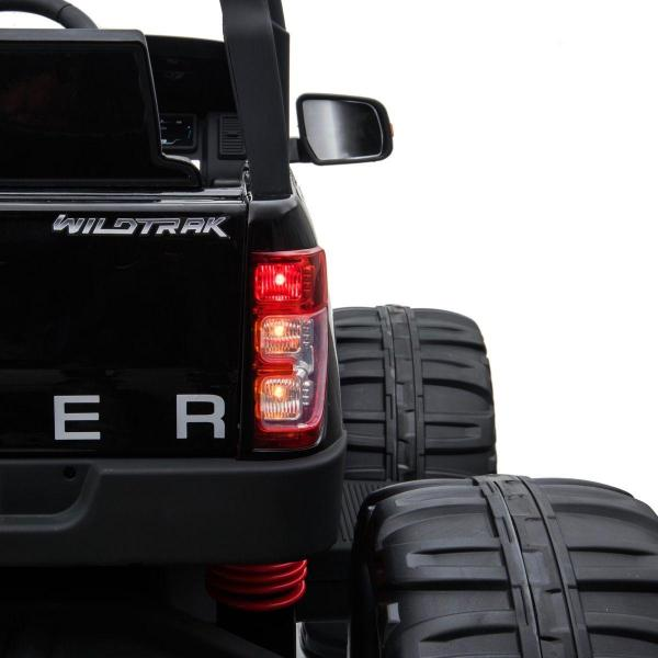 Ford Licensed Ranger Monster Truck Pickup 4WD Electric Ride on Car Jeep - Black -15002