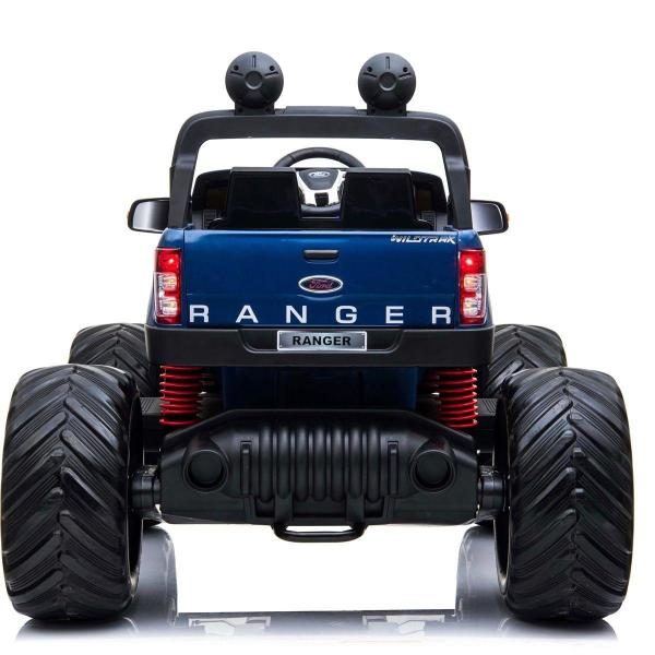 Ford Licensed Ranger Monster Truck Pickup 4WD Electric Ride on Car Jeep - Blue-15034