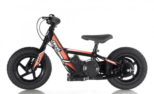 Revvi Twelve Kids Lithium Electric Dirt Bike - 24v Motorbike Orange-15060