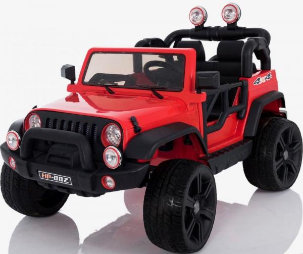 Wrangler Recon Edition 2 Seater Jeep 4x4 style ride on car - Red-15684