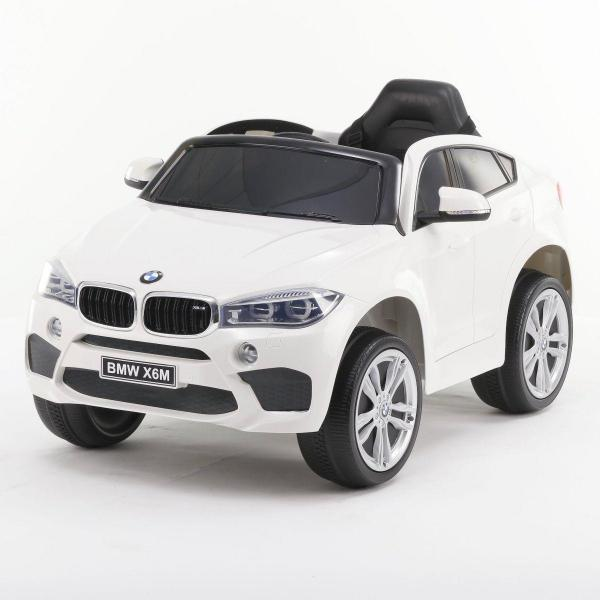 BMW X6 M Sport - Kids Licensed 12v Electric / Battery Ride on Jeep - White-0