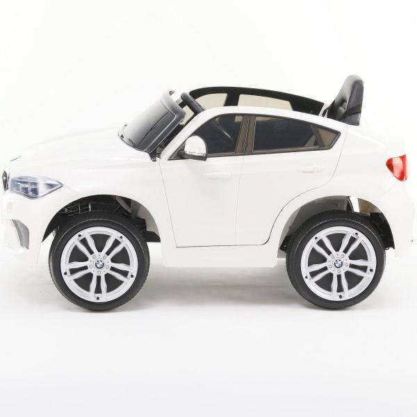 BMW X6 M Sport - Kids Licensed 12v Electric / Battery Ride on Jeep - White-15366