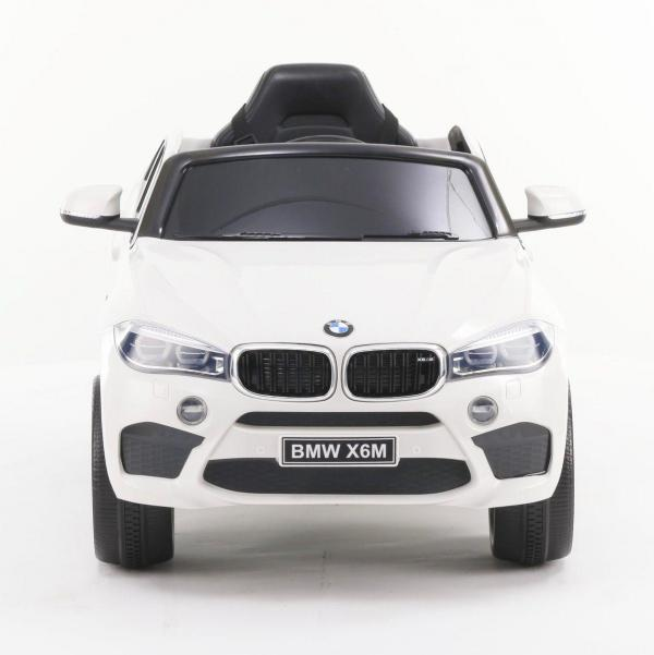 BMW X6 M Sport - Kids Licensed 12v Electric / Battery Ride on Jeep - White-15365