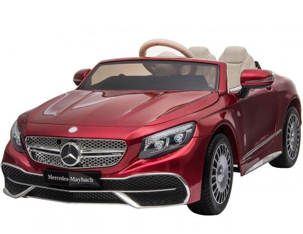 Licensed Mercedes Benz Maybach S 650 Cabriolet 12V Ride On Car - Red-17218