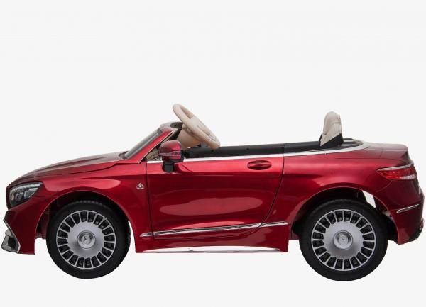 Licensed Mercedes Benz Maybach S 650 Cabriolet 12V Ride On Car - Red-17217