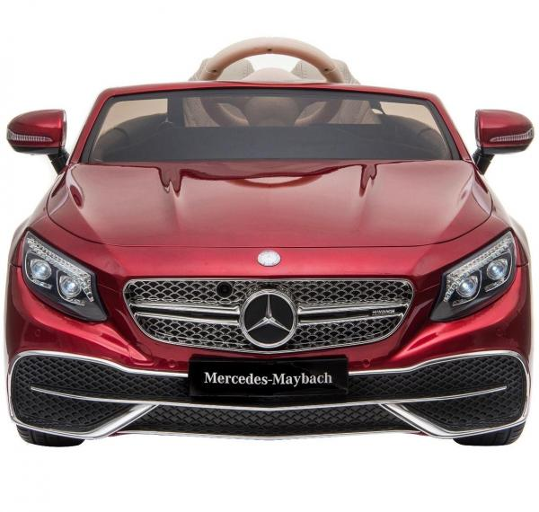 Licensed Mercedes Benz Maybach S 650 Cabriolet 12V Ride On Car - Red-17219