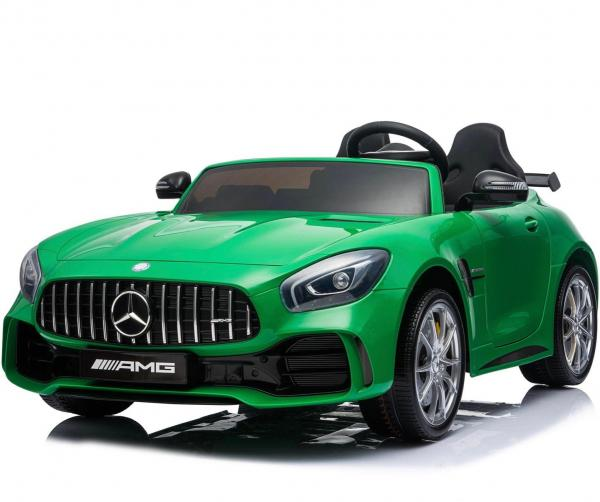 Licensed Mercedes Benz AMG GTR 2 Seater Roadster 24V Ride On Car - Green -0