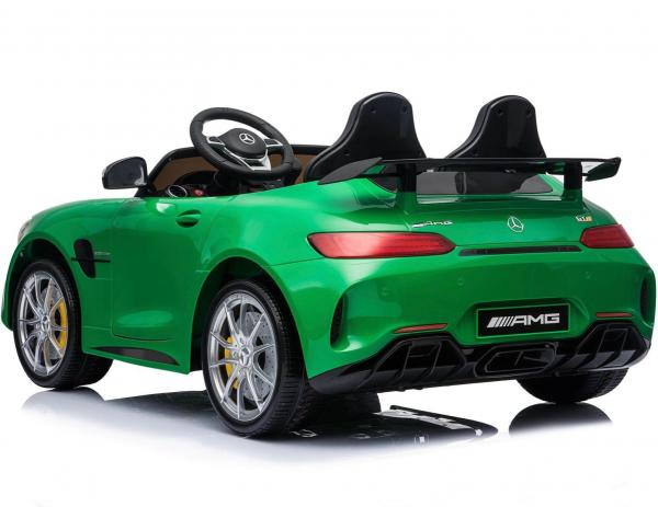 Licensed Mercedes Benz AMG GTR 2 Seater Roadster 24V Ride On Car - Green -15224
